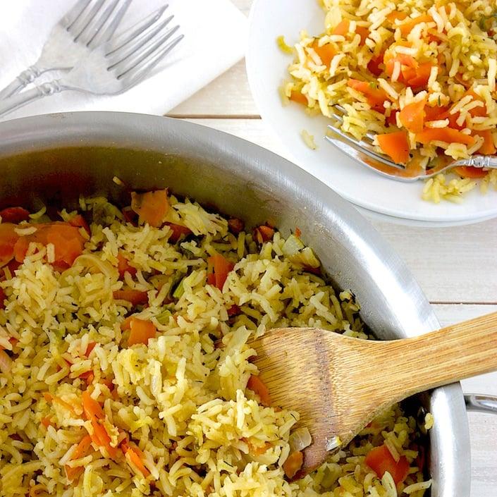 Organic Rice Pilaf | WholeLifestyleNutrition.com