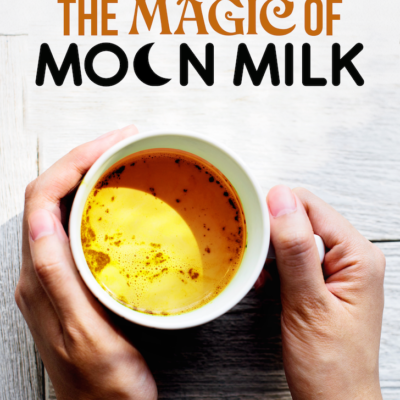 What Is Moon Milk And How It Can Dramatically Help You Sleep Better! {Part 1 of 3}