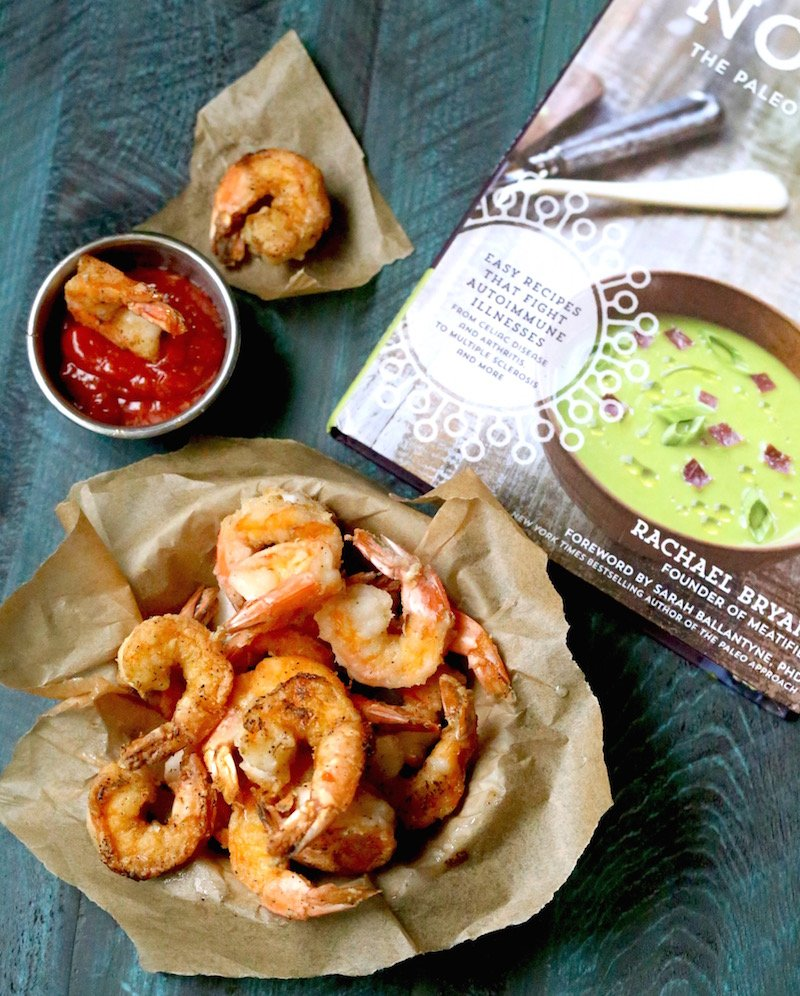 Paleo and Gluten Free Fried Shrimp Recipe From Nourish