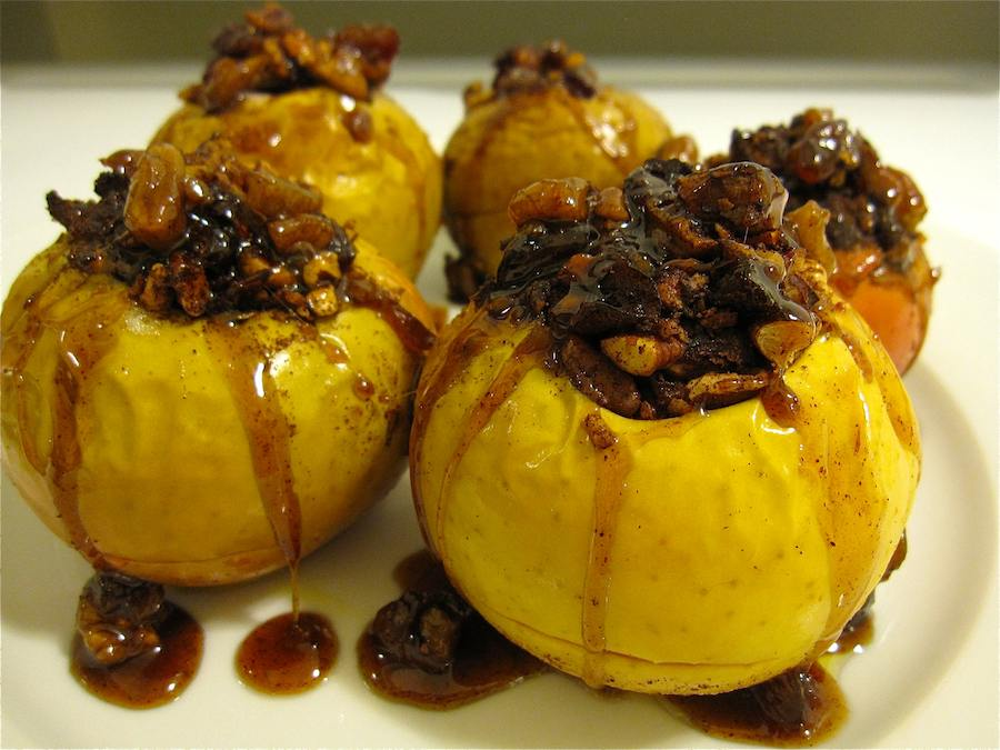 Organic Baked Apple Recipe