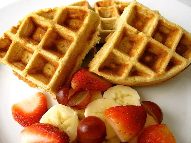 ... love to indulge in belgian waffles why couldn t i make a healthier