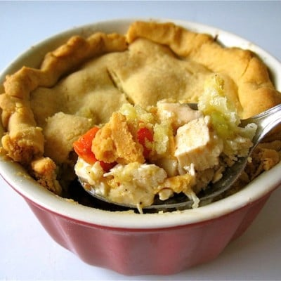 Organic Chicken Pot Pie Recipe