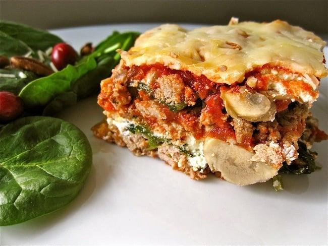 Organic Grain Free Lasagna Recipe