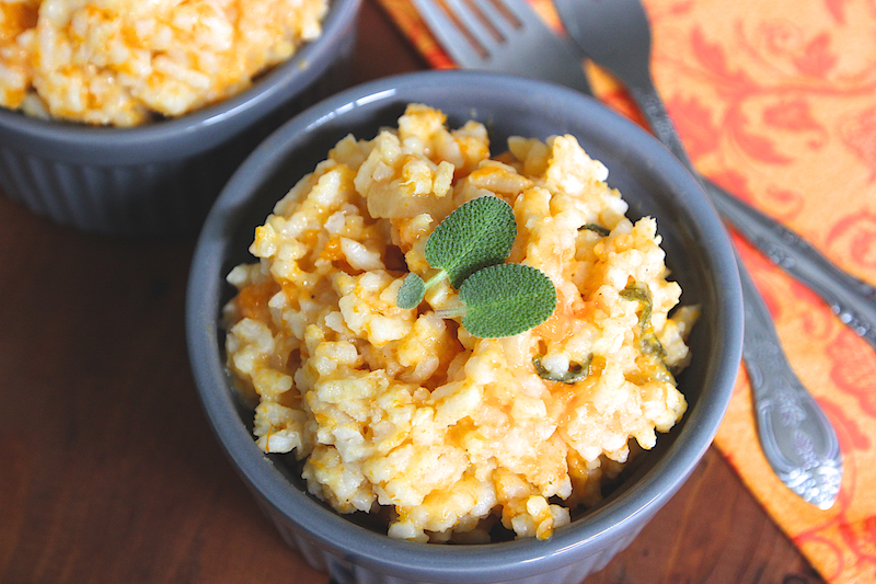 Butternut Squash Organic Risotto Recipe | WholeLifestyleNutrition.com