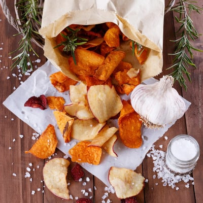 Rosemary and Garlic Organic Chip Recipe