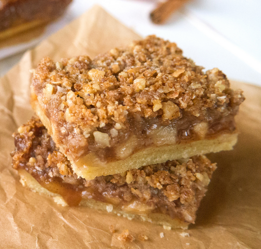 Paleo Apple Pie Bars - Whole Lifestyle Nutrition