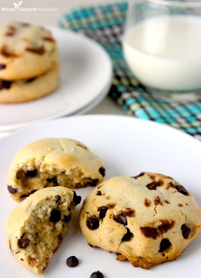 Paleo Chocolate Chip Cookies   WholeLifestyleNutrition.com