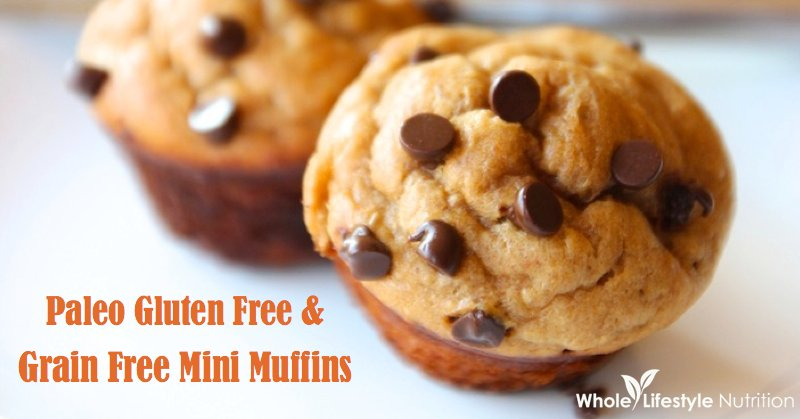 Paleo, Gluten Free, Grain Free Mini Muffins {2 Versions ...