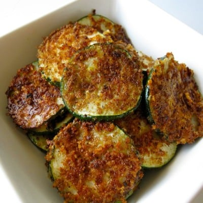 Parmesan Zucchini Chips, Holistic Recipe