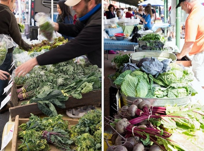 Washington DC Farmers' Market and A Delicious Salad | WholeLifestyleNutrition.com