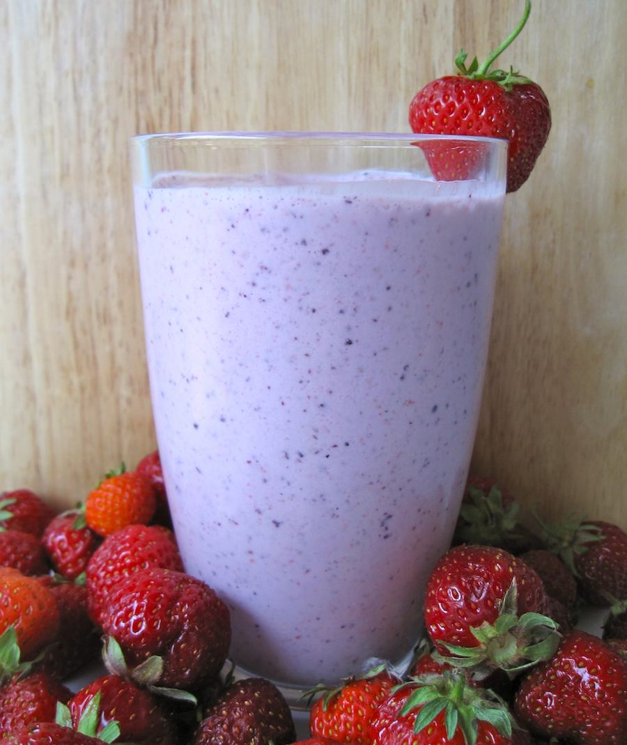 Post Workout Berry Smoothie