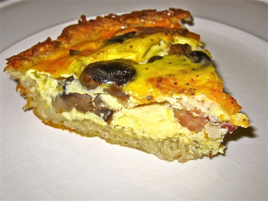 Before Picture of Potato Quiche | WholeLifestyleNutrition.com