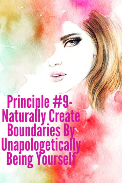 Naturally Set Boundaries By Being Yourself | WholeLifestyleNutrition.com
