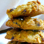 Pumpkin Oatmeal Raisin Cookies