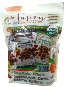 Made in Nature Organic Dried Fruit Snack Packs