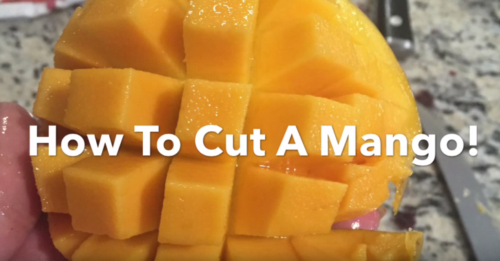 How To Cut a Mango | WholeLifestylenutrition.com