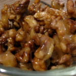 Simple Salted Honey Caramel Crispy Nuts