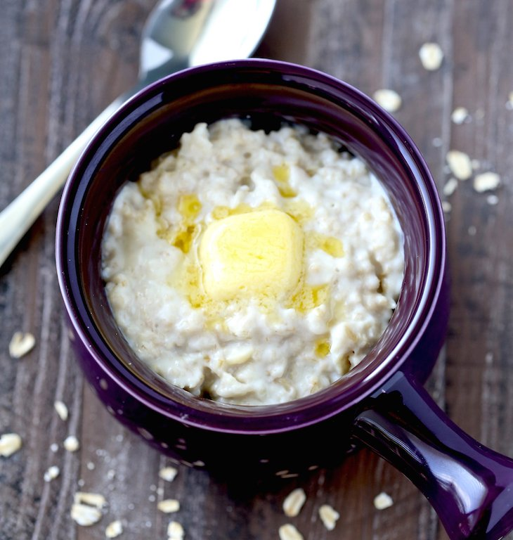 Traditionally Prepared Soaked Oatmeal