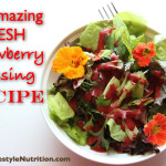 Strawberry Dressing | WholeLifestyleNutrition.com