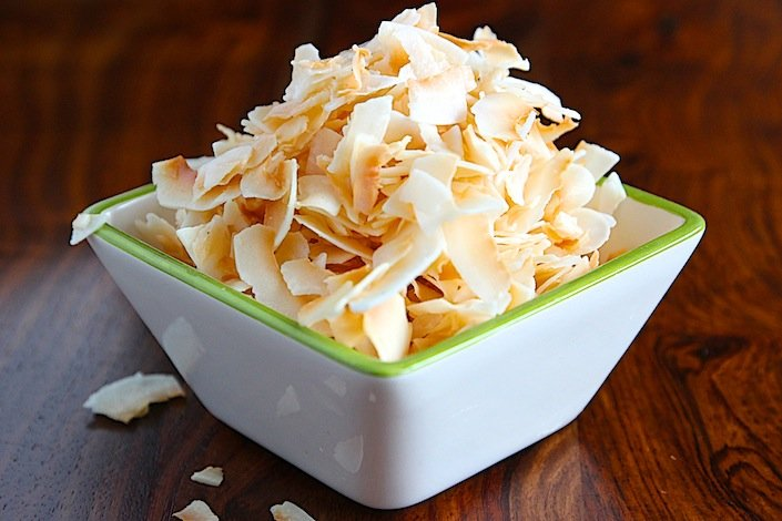 Sweet-N-Salty Coconut Chips | WholeLifestyleNutrition.com