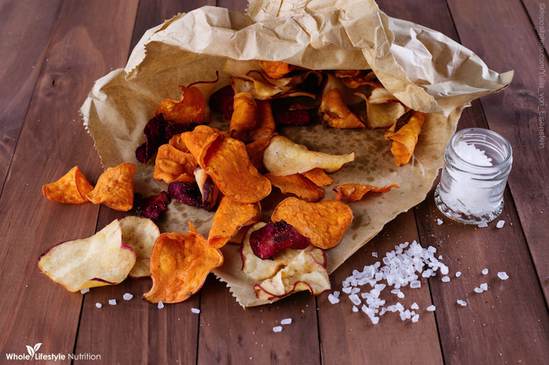 Rosemary and Garlic Organic Chip Recipe | WholeLifestyleNutrition.com