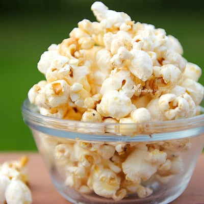 Sweet and Salty Healthy Popcorn Recipe