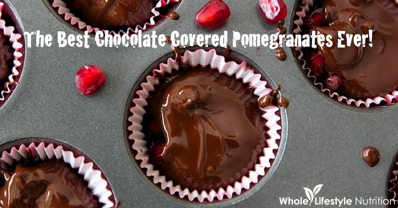 The Best Chocolate Covered Pomegranates Ever Whole