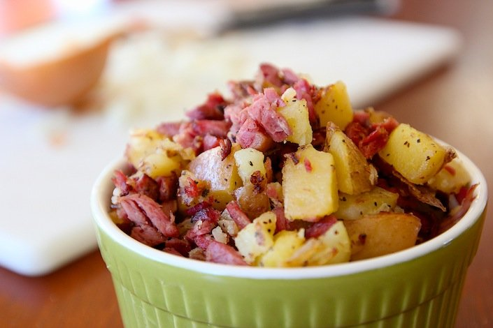 The Best Organic Corned Beef Hash Recipe| WholeLifestyleNutrition.com