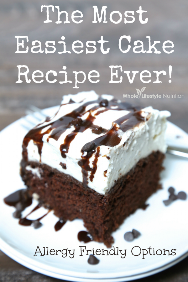 The Most Easiest Homemade Cake Recipe Ever! | WholeLifestyleNutrition.com