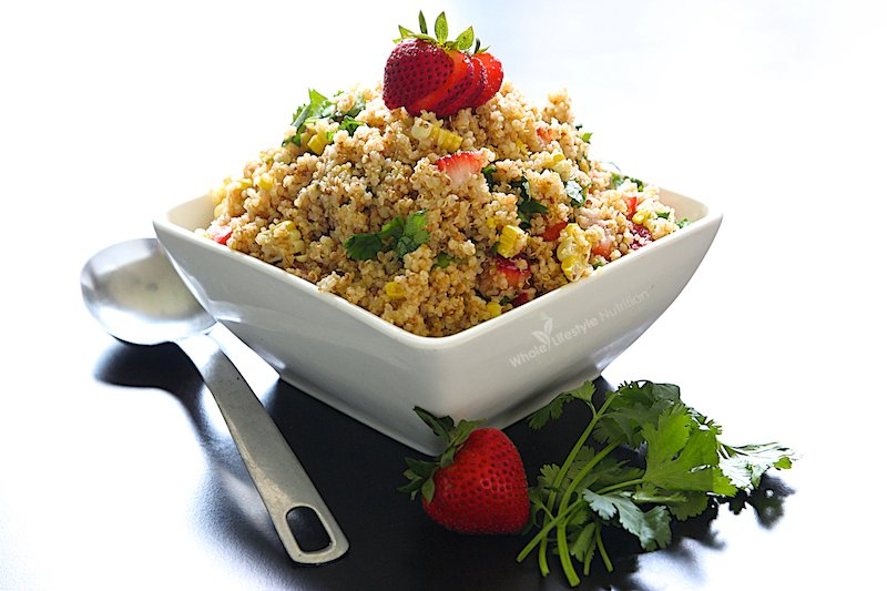 Toasted Quinoa Salad Recipe | WholeLifestyleNutrition.com