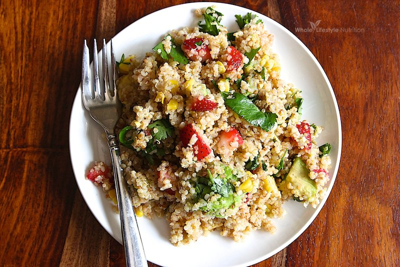 Gluten Free Toasted Quinoa Salad Recipe Whole Lifestyle Nutrition