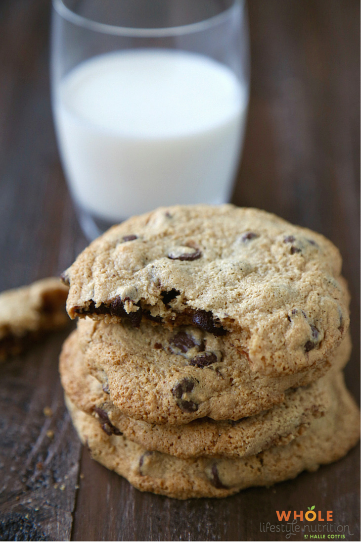 Paleo Chocolate Chip Cookie Recipe | WholeLifestyleNutrition.com