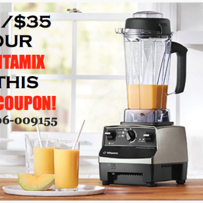 EXCLUSIVE VITAMIX COUPON {Coupon Code: 06-009155}