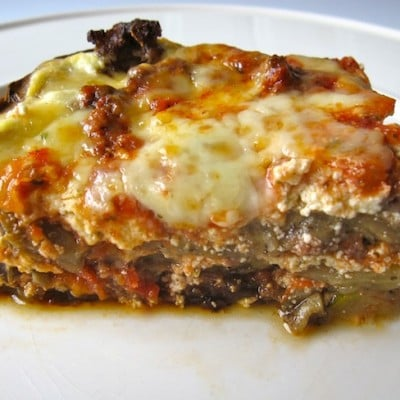 Vegetable Beef Lasagna (Without Noodles), Holistic Recipe