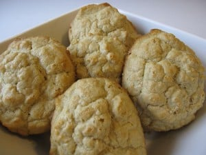Organic Oat Flour Drop Biscuits