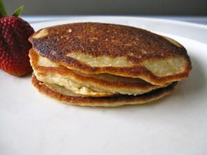 Organic Blueberry Pancakes