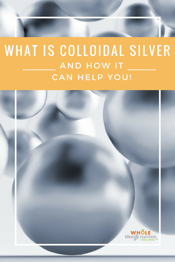 Colloidal silver and mold