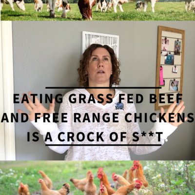 Why Eating Grass Fed Beef And Free Range Chicken Is A Crock Of S**T!
