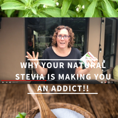 Why Your Natural Stevia Is Making You An Addict! | WholeLifestyleNutrition.com