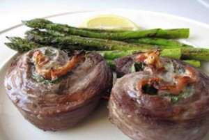 blue cheese stuffed flank