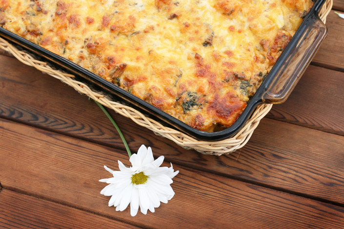 Countrywide Farmers' Markets ~ South Carolina and Farm Share Boxes and A Cheesy Garden Casserole Recipe | WholeLifestyleNutrition.com