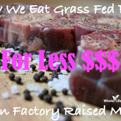 How We Eat Grass Fed Beef On A Budget!