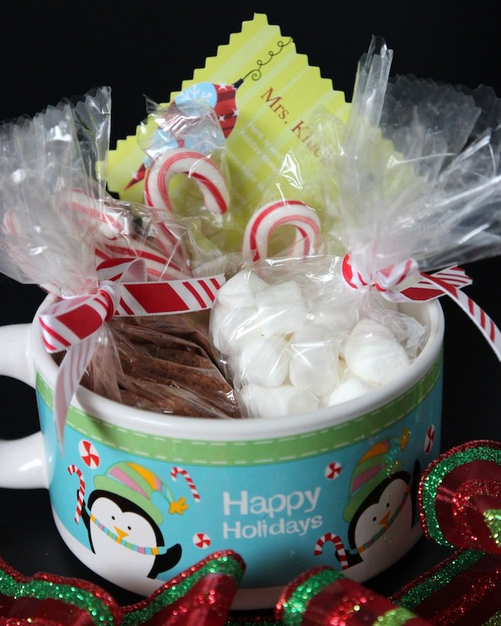 Christmas gift ideas hot chocolate mix
