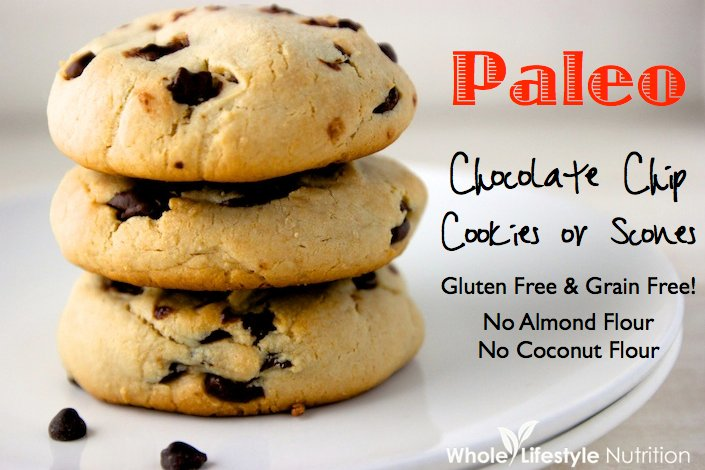 Paleo chocolate chip cookies or scones recipe no almond flour no paleo chocolate chip cookies or scones recipe no almond flour no coconut flour fandeluxe Images