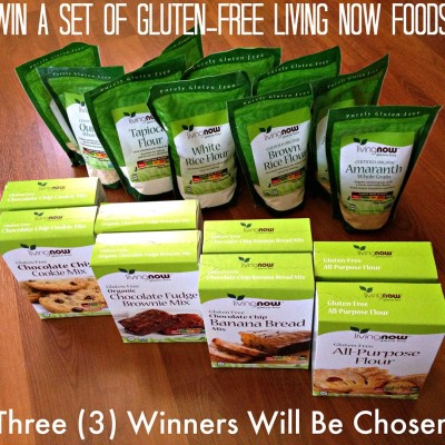 Living Now Foods Gluten Free Giveaway!