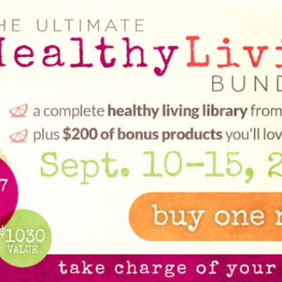 Did You See This Amazing Healthy Living Ultimate Bundle?