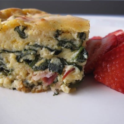How-To Video: Spinach and Bacon Bake